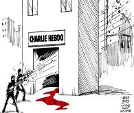 Karikatür saldırısına karikatürlü savunma