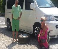 Soyman ve eşi trafik kazası geçirdi