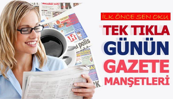 12 Ağustos 2019 Gazete Manşetleri