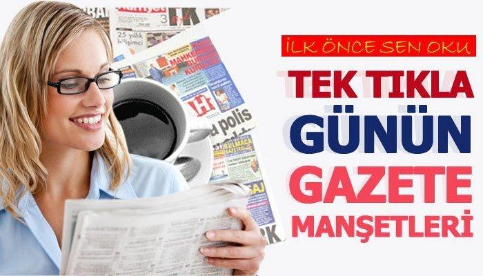 23 Kasım 2020 Gazete Manşetleri