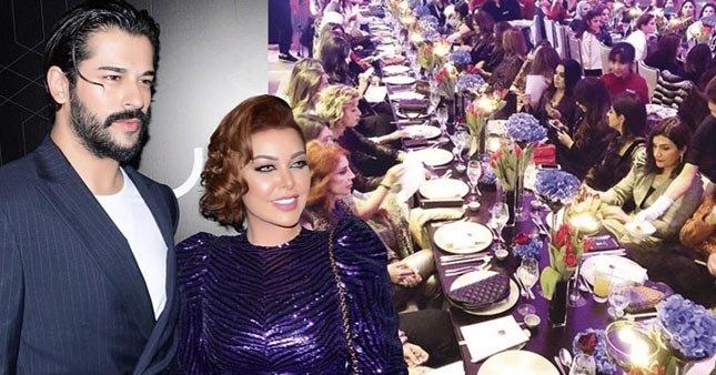 80 kadınla yemek yiyen Burak Özçivit'e eleştiri