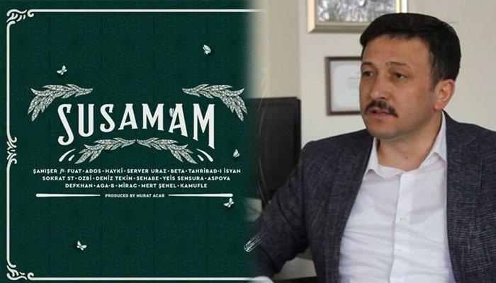 AK Parti'den 'Susamam' tepkisi