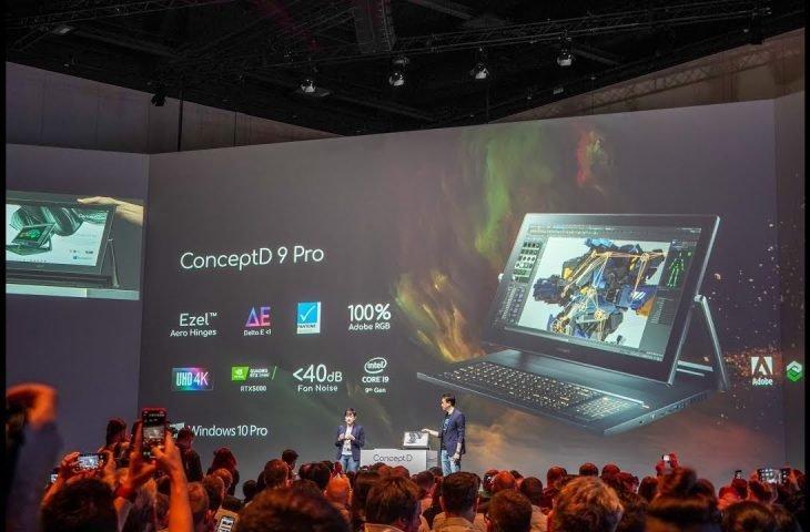 Acer ConceptD Pro serisi tanıtıldı