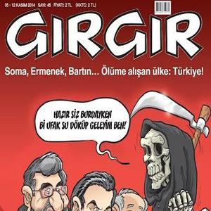 Aden kazası Gırgır'a da kapak oldu