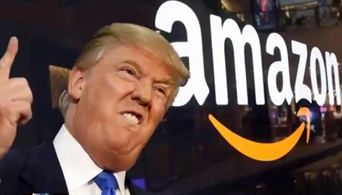 Amazon'a Donald Trump freni