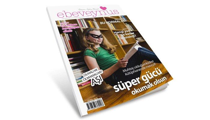 Anne babaların dünyasına yeni bir soluk: ebeveynus dergisi raflarda!
