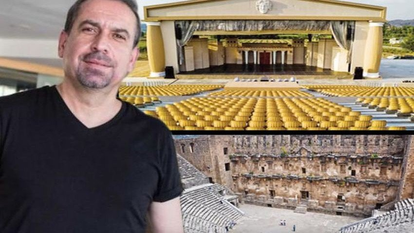 Aspendos'ta tiyatro kavgası! Mustafa Erdoğan'a tahliye şoku!