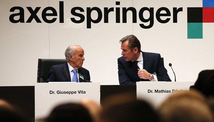 Axel Springer'e ABD'li ortak