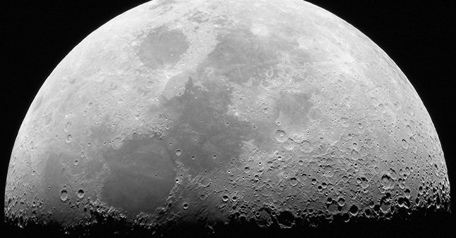 Ay'da mağara keşfedildi