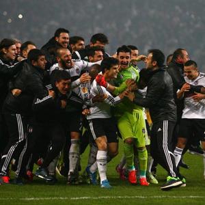 Beşiktaş'ın kartalları sosyal medyayı da uçurdu
