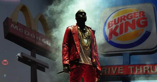 Burger King'in Kanye West tweet'i rekor kırdı