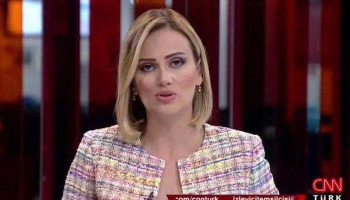 CNN Türk spikerinden skandal anons!