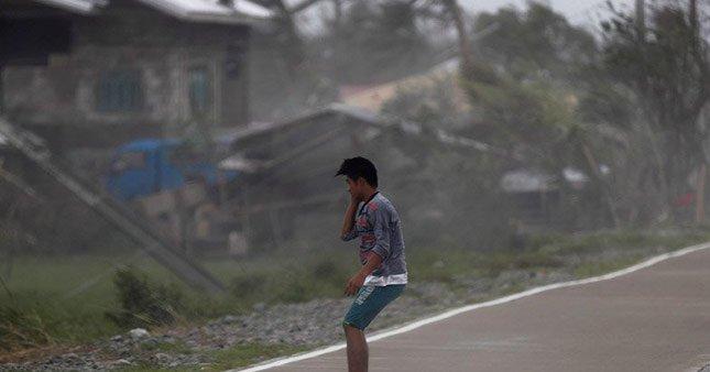 Çin'de Mangkhut tayfunu faicası