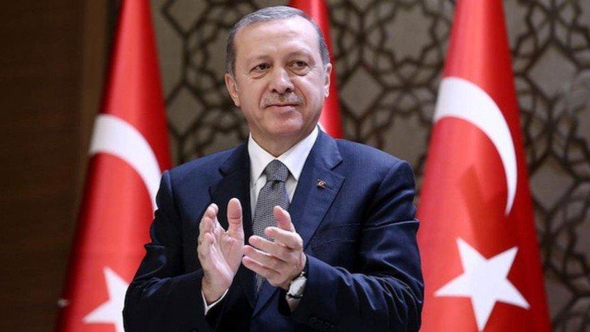Cumhurbaşkanı Erdoğan'dan 12 Dev Adam paylaşımı