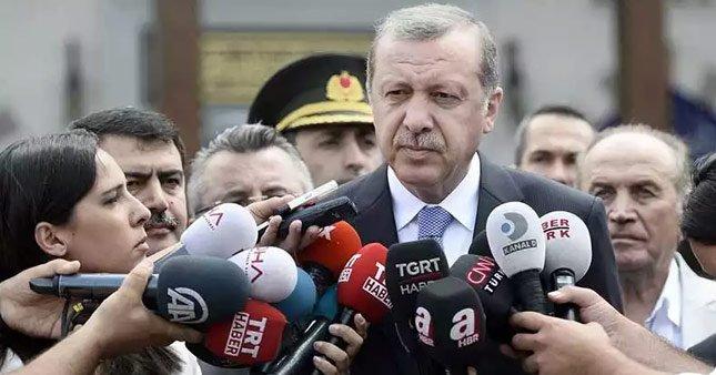Erdoğan'dan 'Çalışan Gazeteciler Günü' mesajı
