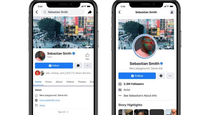 Facebook yeni Sayfa tasarımını test ediyor