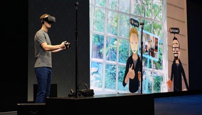 Facebook'dan özel VR gözlük