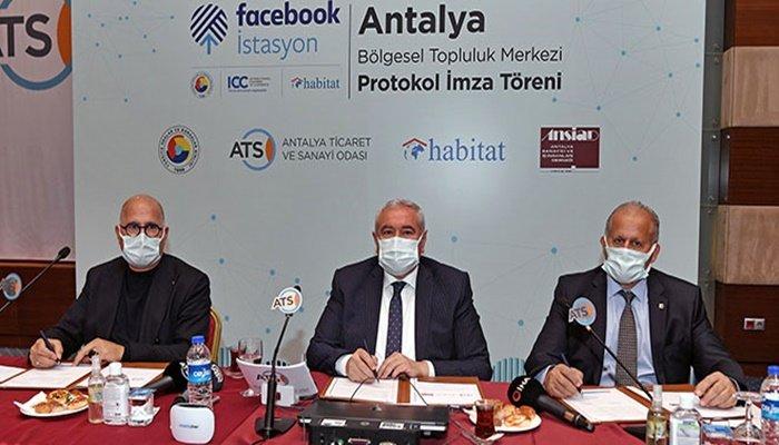 Facebook'un 13'üncü istasyonu Antalya TSO'da açıldı