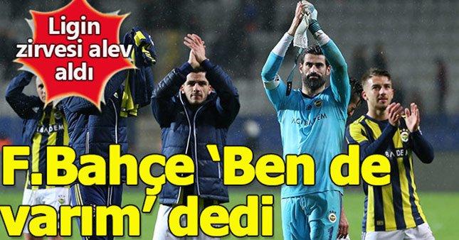 Fenerbahçe yarışta ben de varım dedi