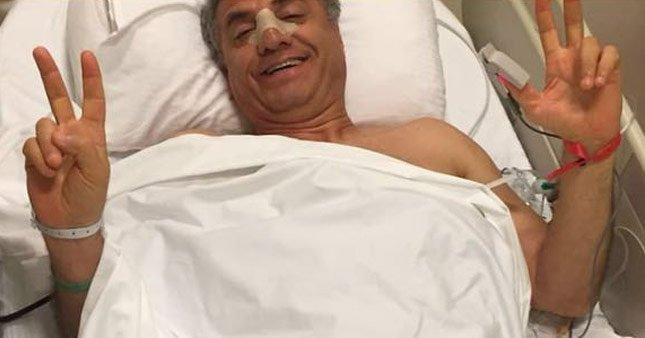 Fuat Kozluklu'nun burnu kırıldı
