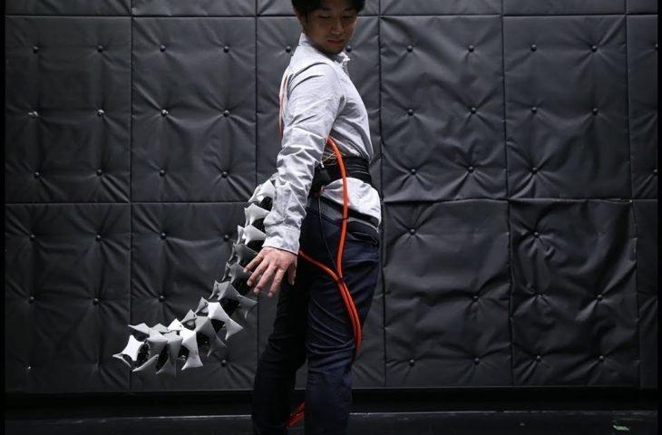 Giyilebilir robotik kuyruk geliştirildi