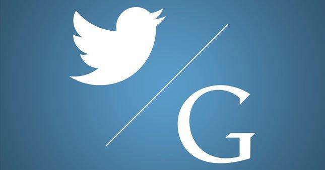 Google ve Twitter'dan dev ortaklık
