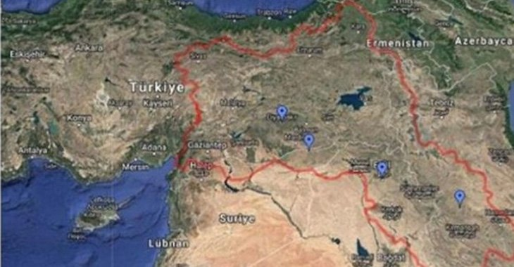 Google'a skandal harita için başvuru