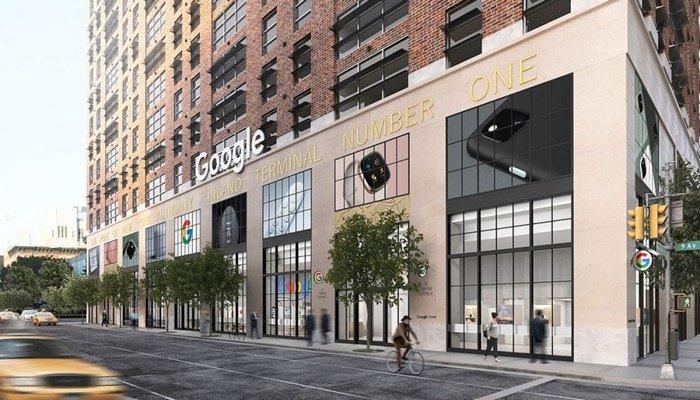 Google'dan ilk fiziksel mağaza