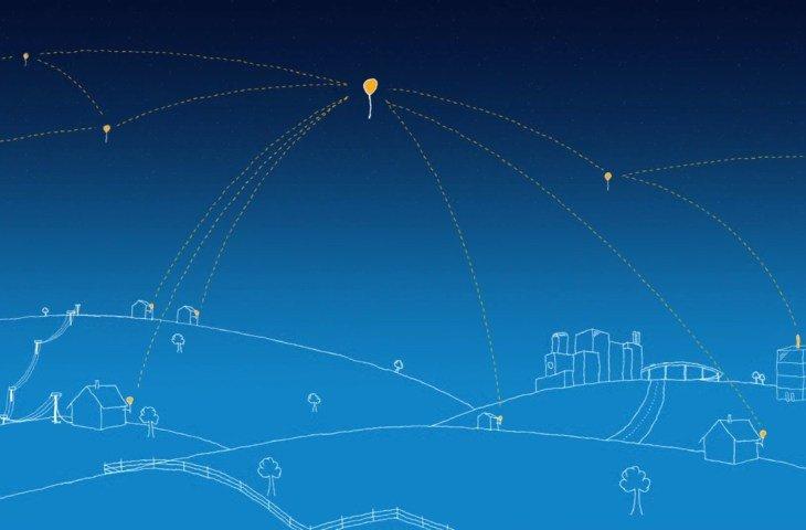Google'ın balonları 1000 km'den veri taşıdı