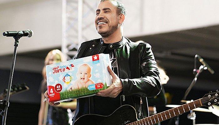 Haluk Levent, Baby Turco'nun marka yüzü oldu!