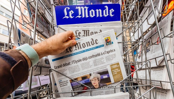 Fransız Le Monde, hangi ulusal gazeteyle iş birliği yaptı?
