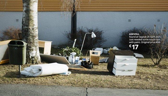 """Ikea Norveç, """"Çöp Koleksiyonu""""nu tanıttı"""