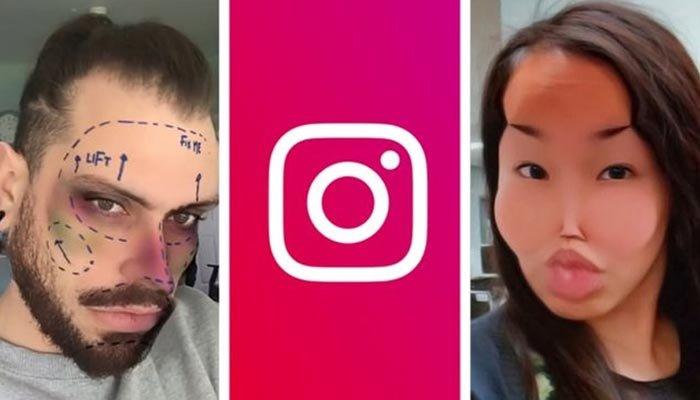 Instagram estetikli yüz filtrelerini kaldırıyor