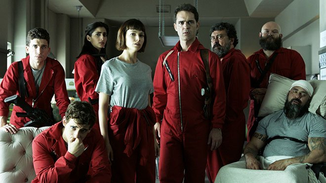 La Casa De Papel'in yapımcısından yeni dizi!