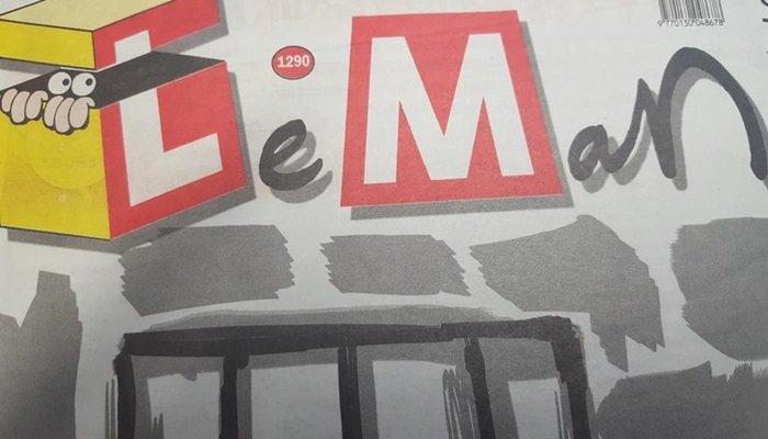 Leman'dan Evrensel gazetesine destek