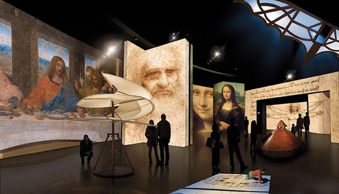 Leonardo Da Vinci İzmirlilerle buluşuyor!