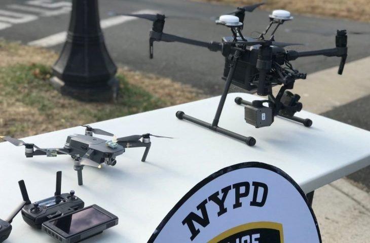 New York polisi drone kullanmaya başladı
