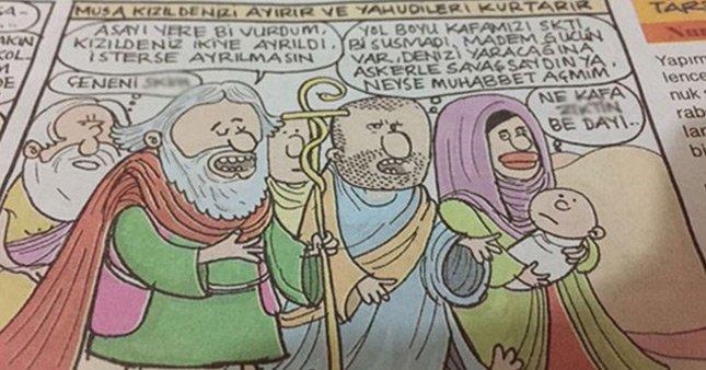 O karikatür için özür diledi!