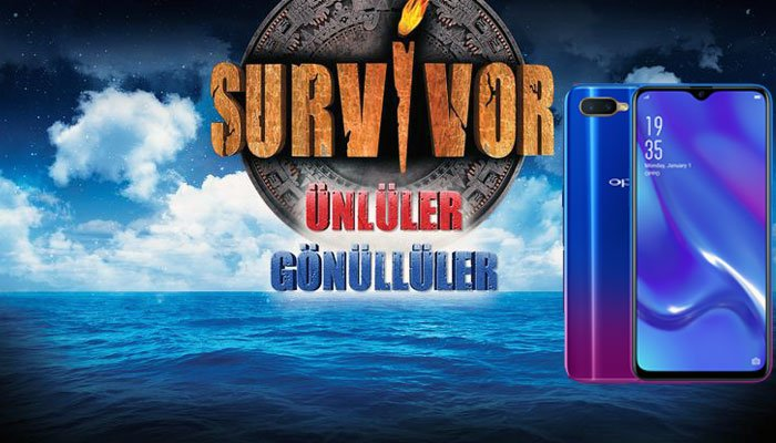 Oppo, Survivor'ın ana sponsoru oldu!