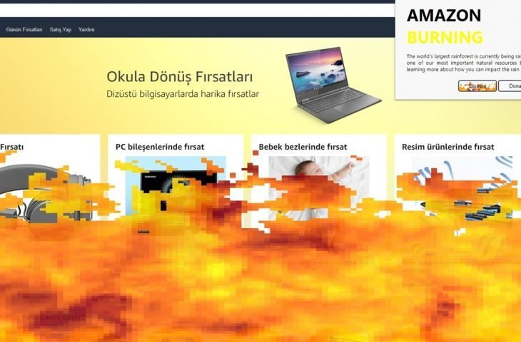 Orman yangınları için Chrome eklentisi geliştirildi!