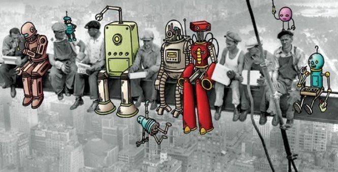 Robotlara vergi getirmeye hazırlanıyor