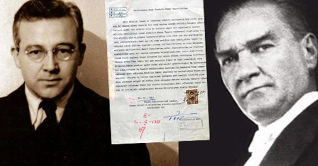 Sabahattin Ali'den Atatürk'e mektup