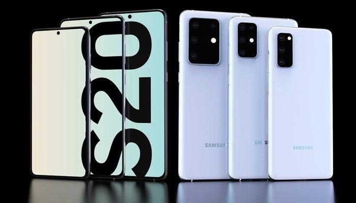Samsung Galaxy S20 için geri sayım!