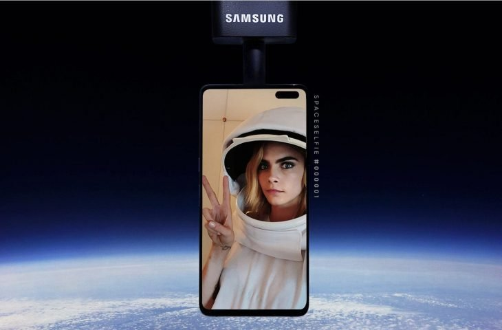 Samsung'un uzay selfie'si kafamıza düşüyordu