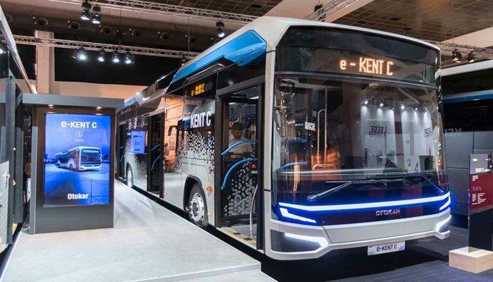 Şehir içi elektrikli otobüs tanıtıldı...