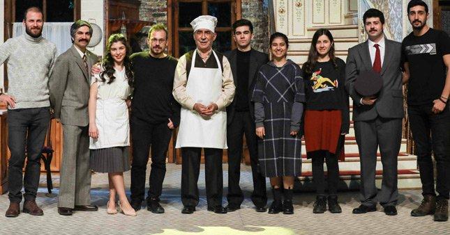 Şener Şen'li Zengin mutfağına büyük ilgi