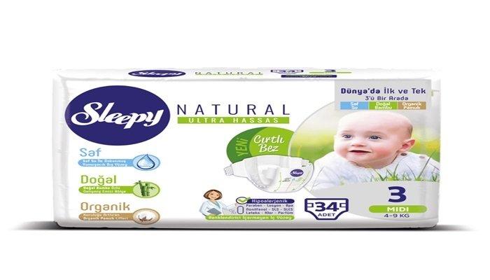 Sleepy Natural bebek bezinin yeni marka yüzü belli oldu!