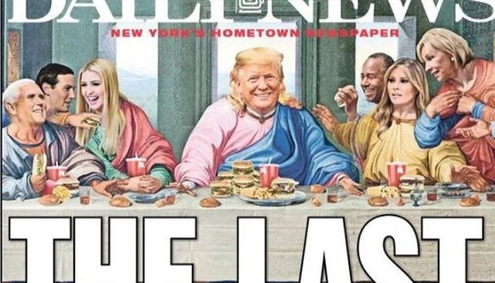 Trump'a mesih göndermesi!