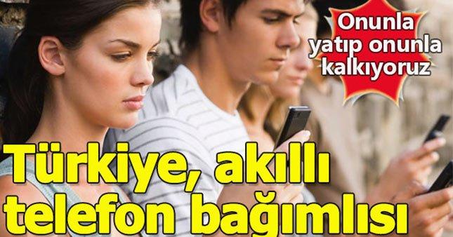Türkiye, akıllı telefon kullanımında Avrupa'yı geride bıraktı