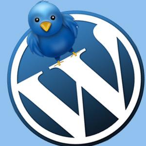 Twitter ve WordPress işbiriliği